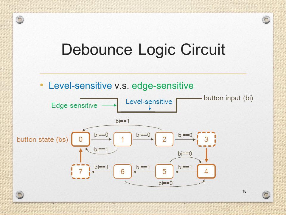 Debounce Logic Circuit