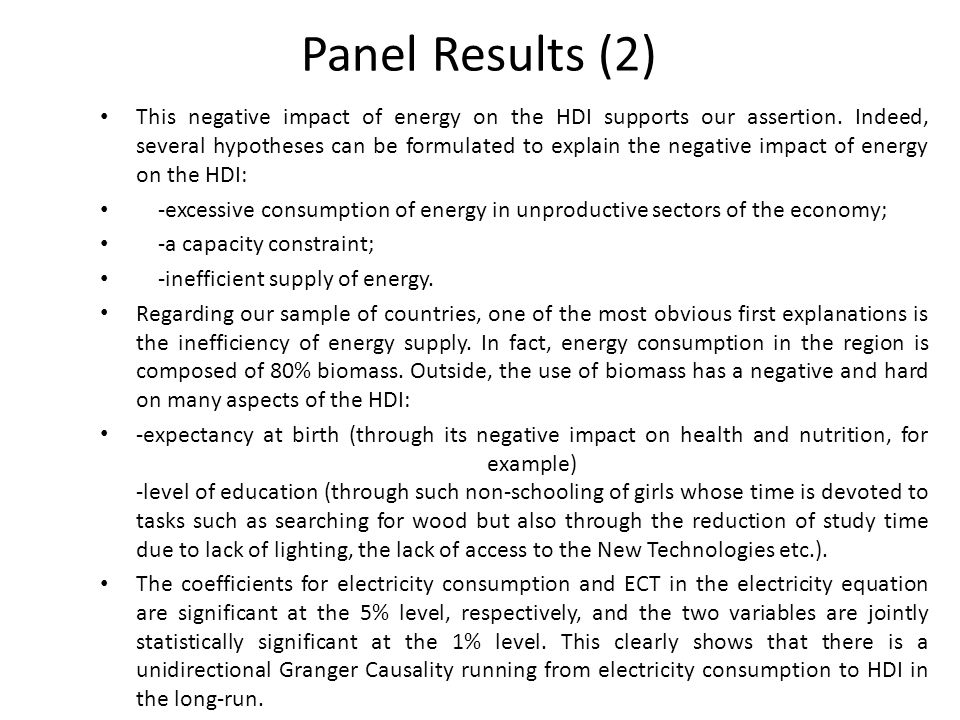 Panel Results (2)