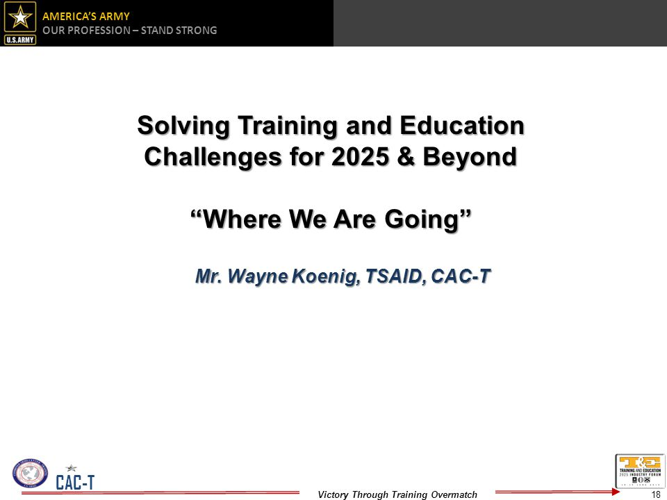 Solving Training and Education Challenges for 2025 & Beyond