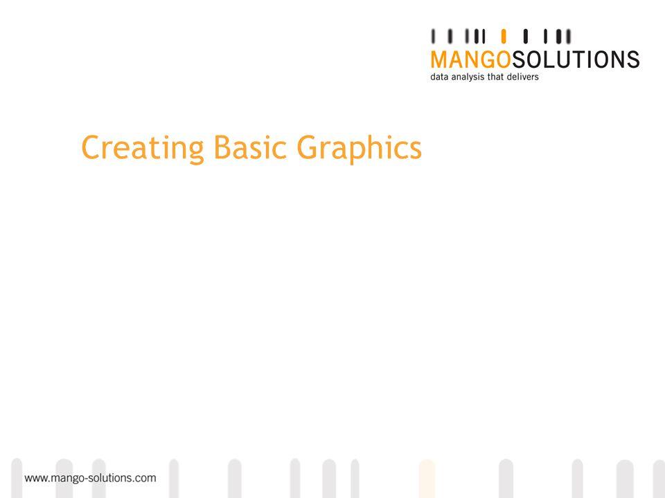 Creating Basic Graphics