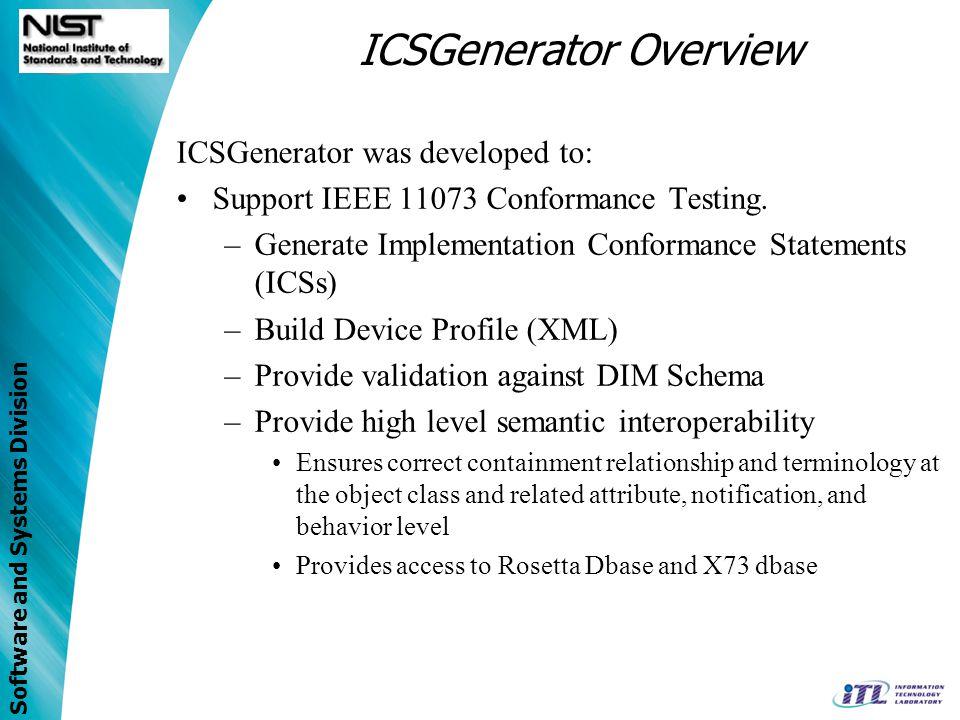 ICSGenerator Overview
