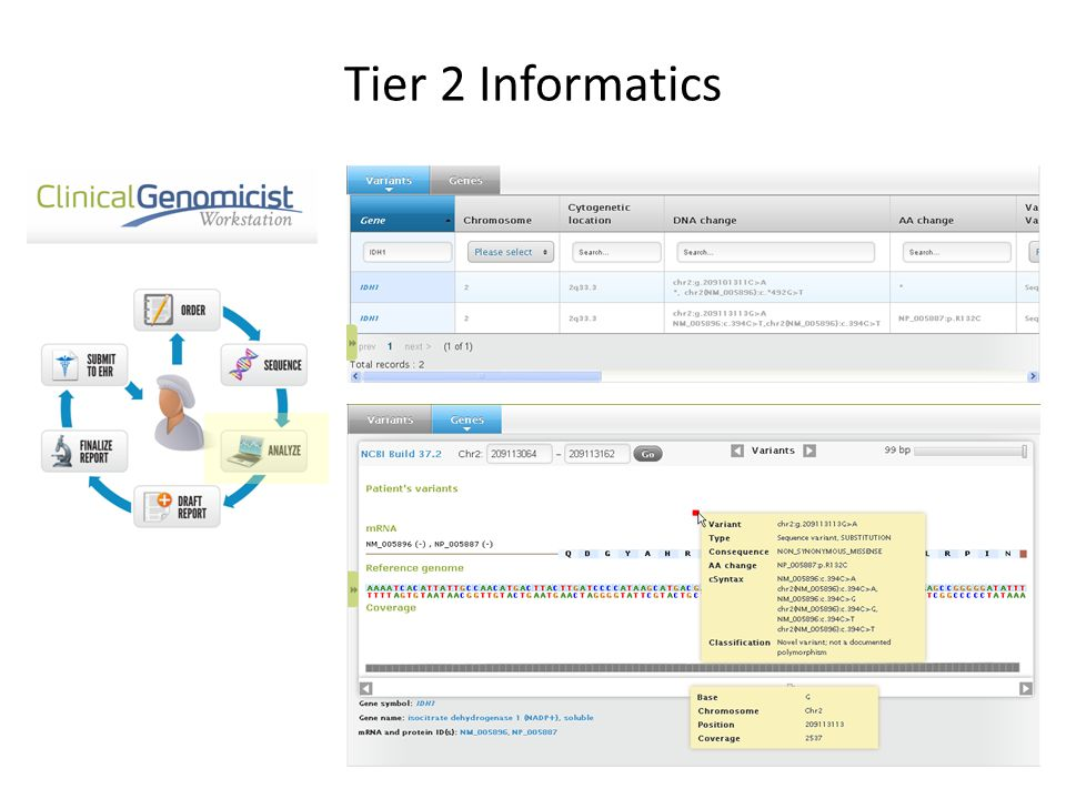 Tier 2 Informatics