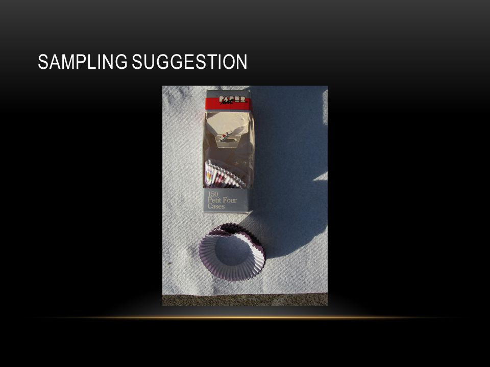 Sampling Suggestion