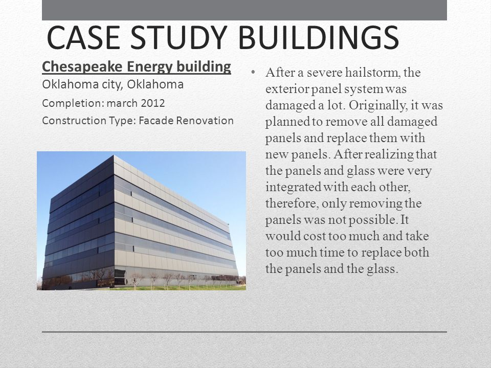 Chesapeake Energy building Oklahoma city, Oklahoma