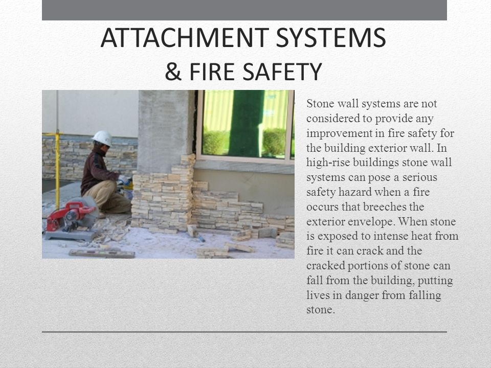 ATTACHMENT SYSTEMS & FIRE SAFETY