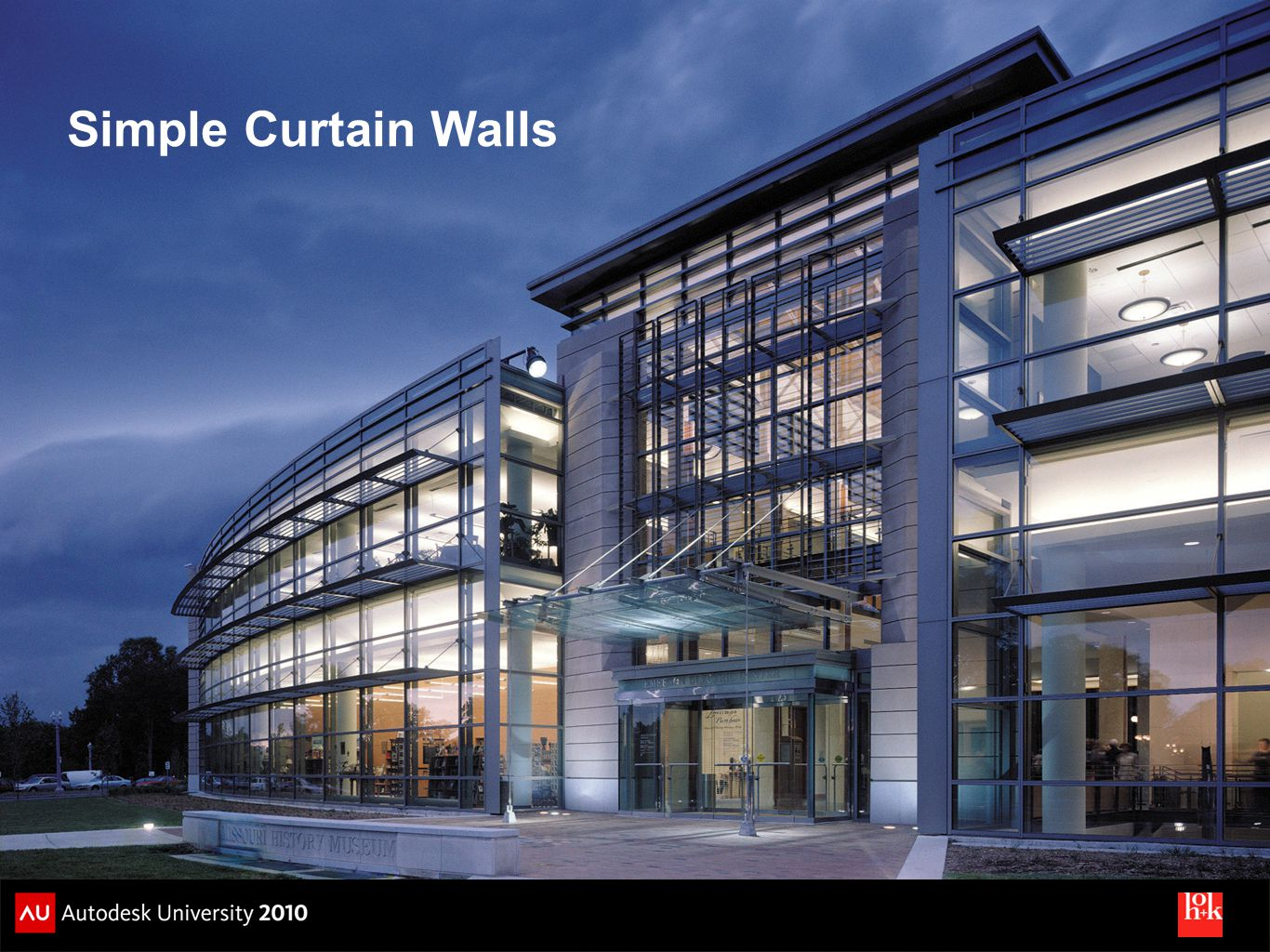 Simple Curtain Walls