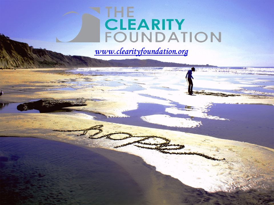 www.clearityfoundation.org 43