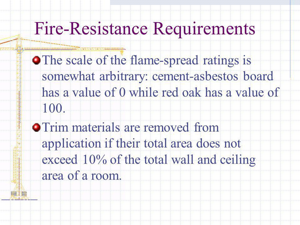 Fire-Resistance Requirements