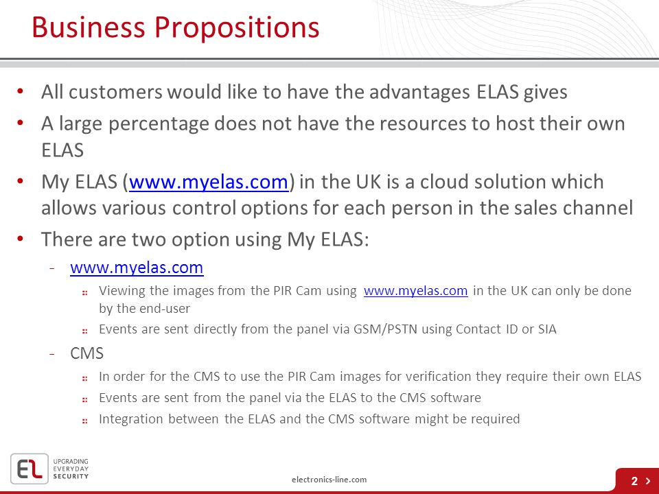 Business Propositions