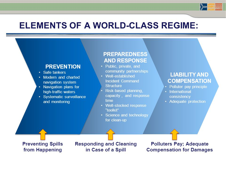 ELEMENTS OF A WORLD-CLASS REGIME: