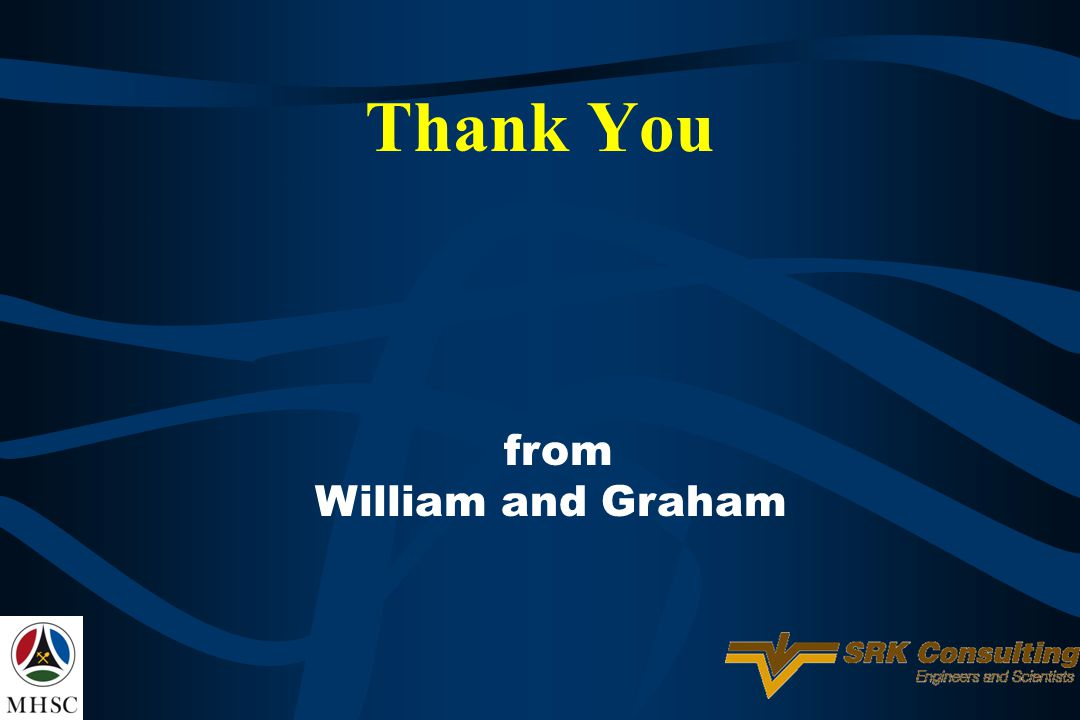 Thank You from William and Graham