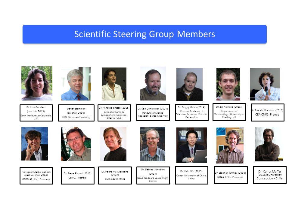 Scientific Steering Group Members