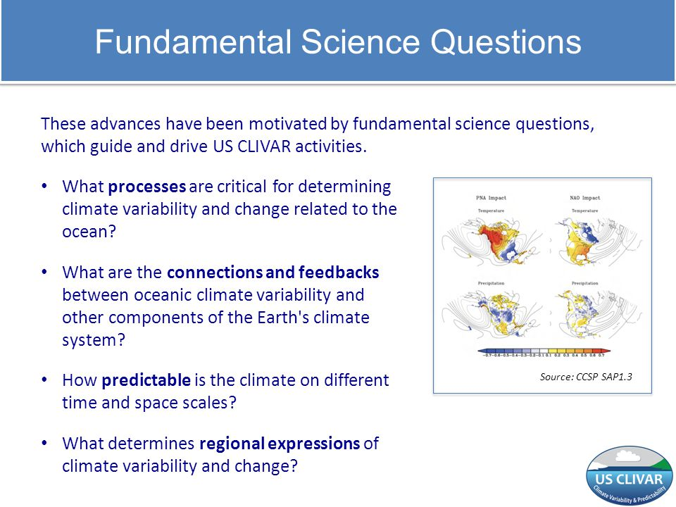 Fundamental Science Questions