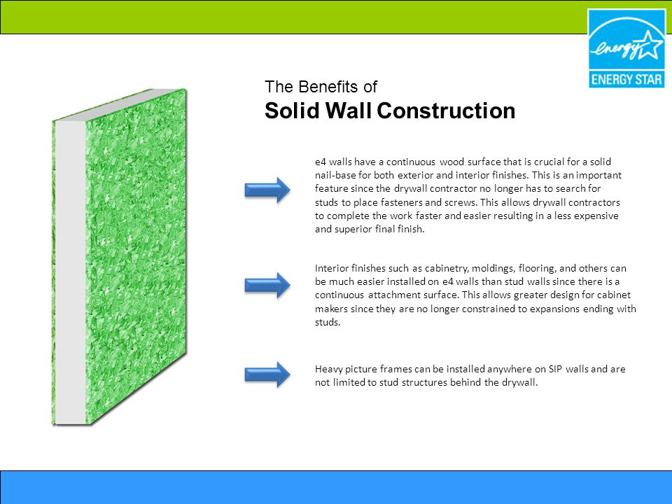 The Benefits of Solid Wall Construction
