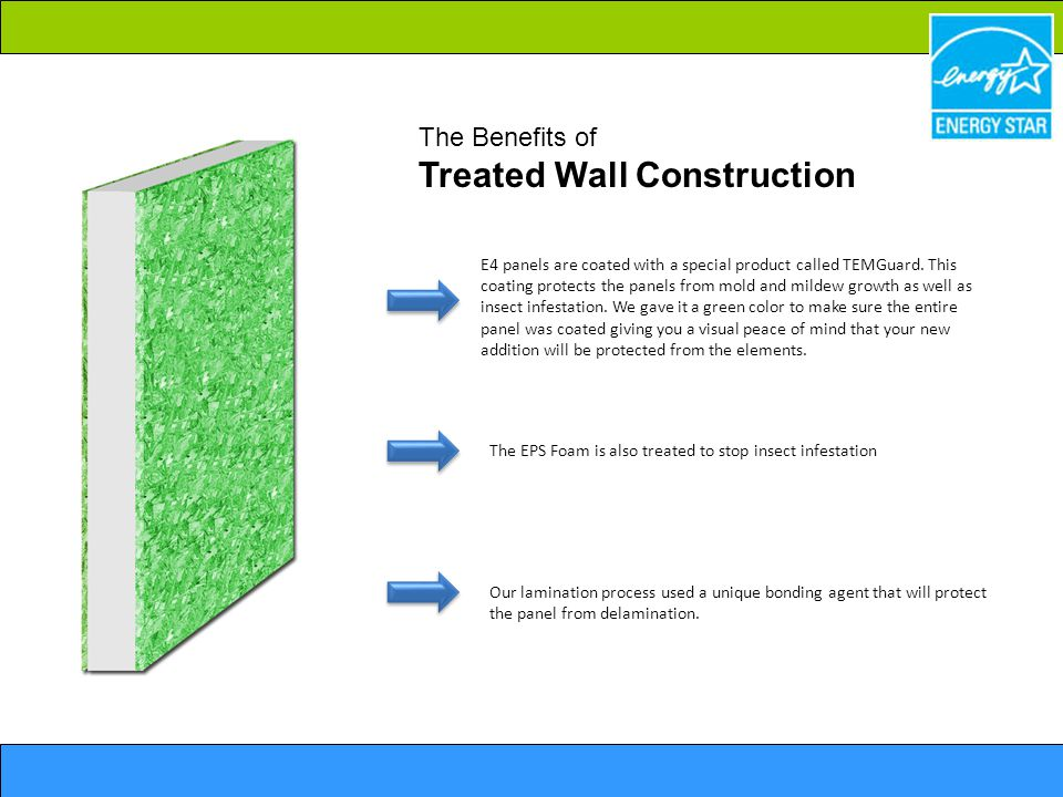 The Benefits of Treated Wall Construction