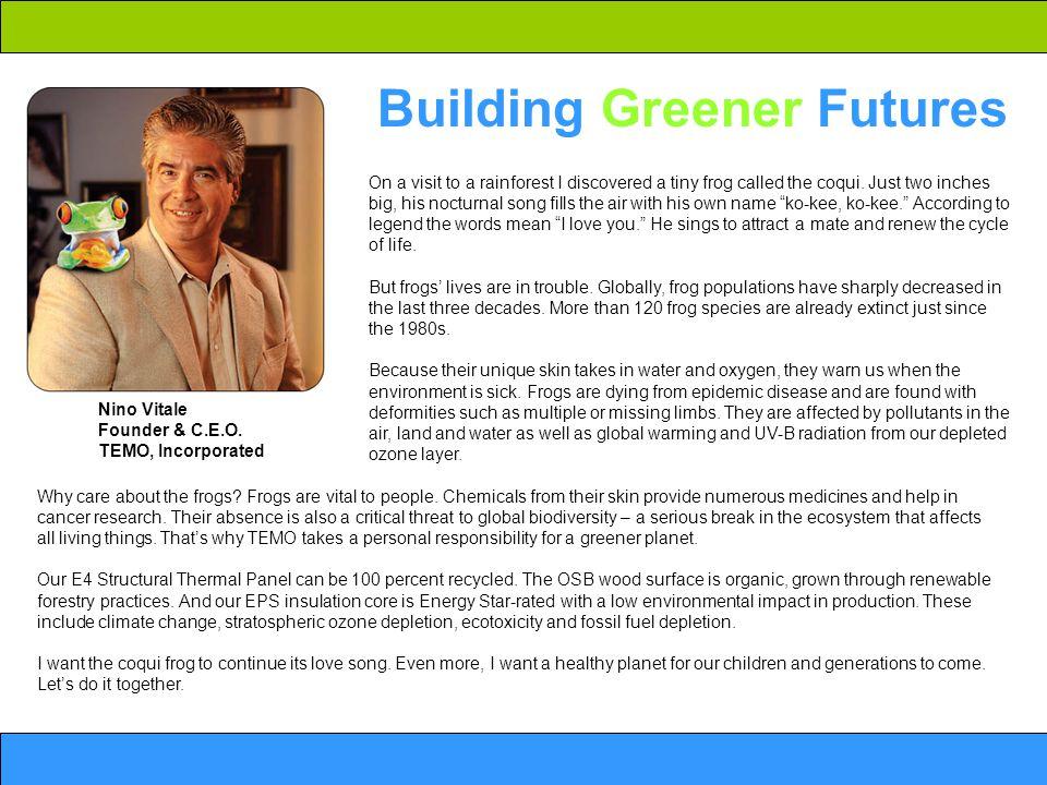 Building Greener Futures