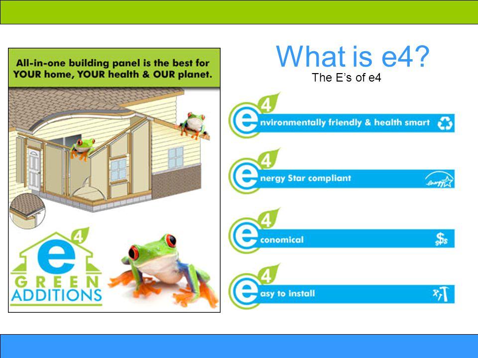 What is e4 The E's of e4
