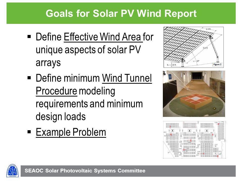Goals for Solar PV Wind Report