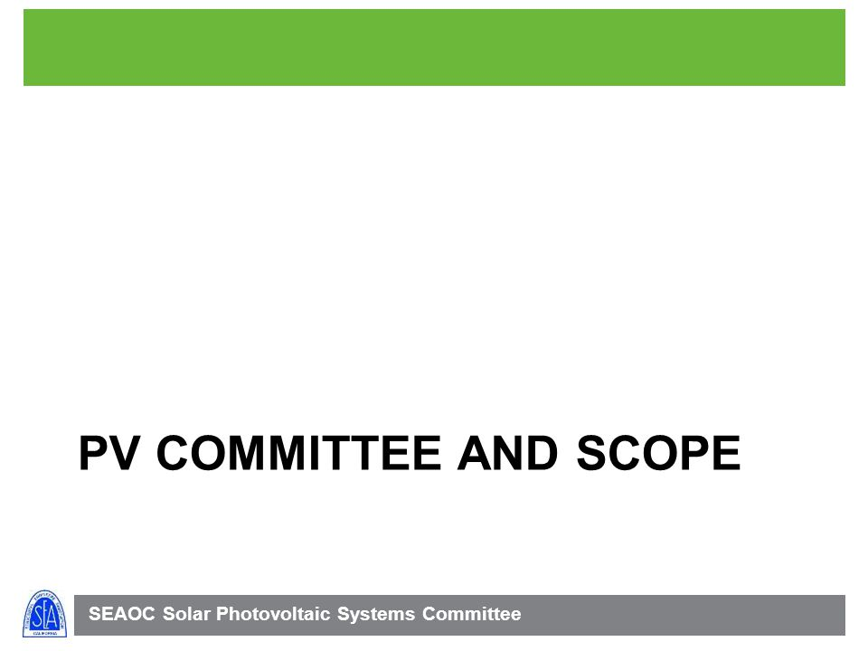 PV Committee and scope 4