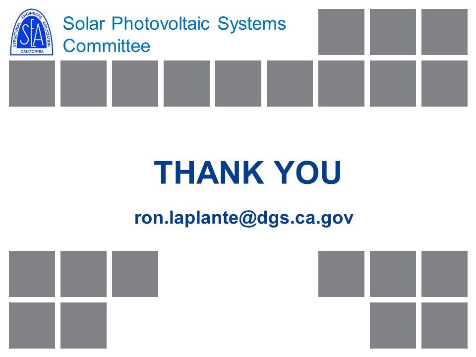 THANK YOU ron.laplante@dgs.ca.gov