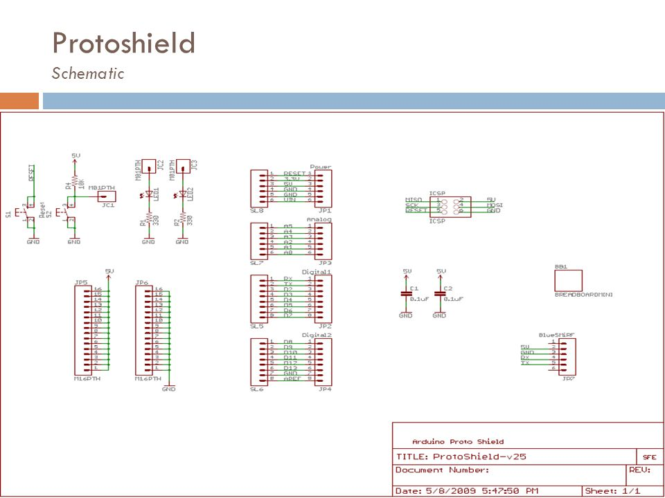 Protoshield Schematic
