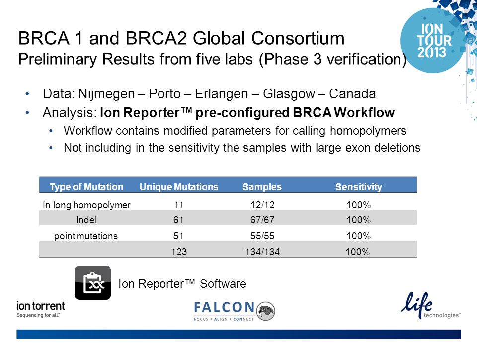 BRCA 1 and BRCA2 Global Consortium