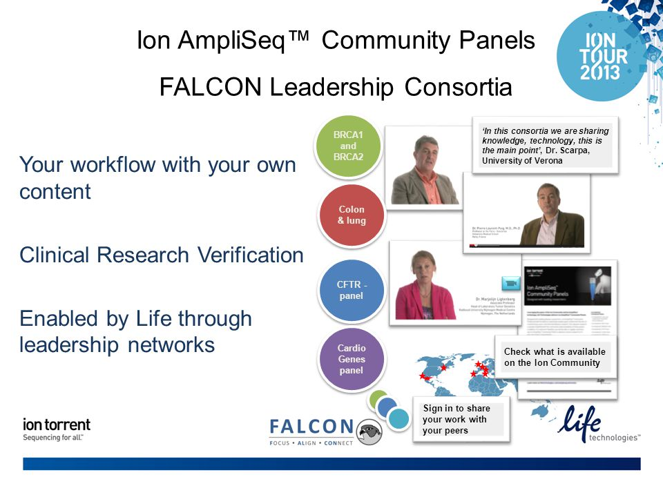 Ion AmpliSeq™ Community Panels FALCON Leadership Consortia