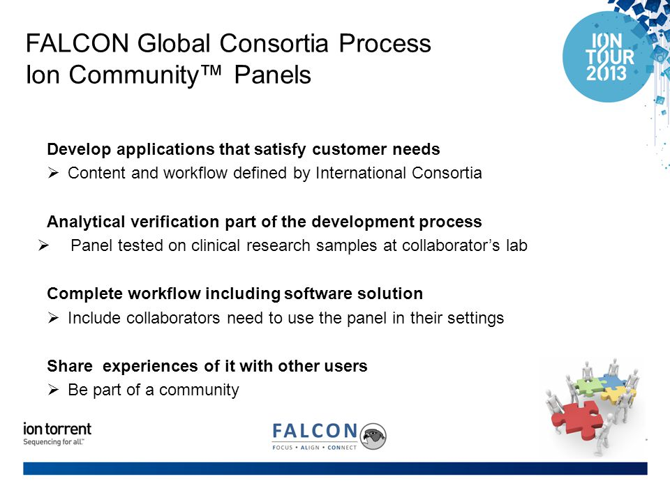 FALCON Global Consortia Process Ion Community™ Panels