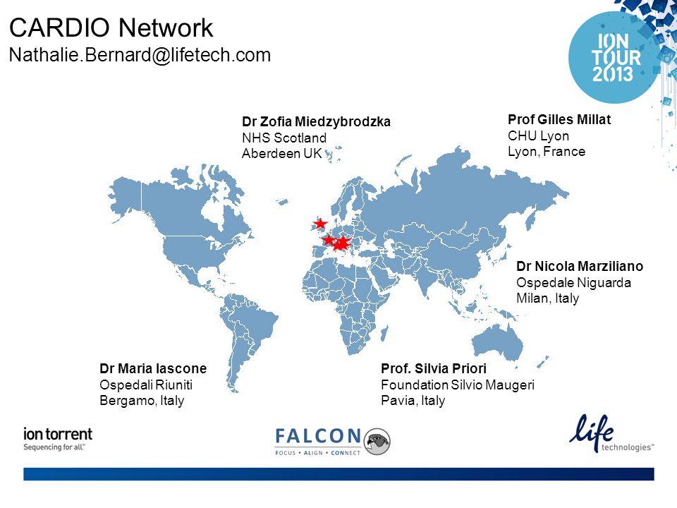 CARDIO Network Nathalie.Bernard@lifetech.com