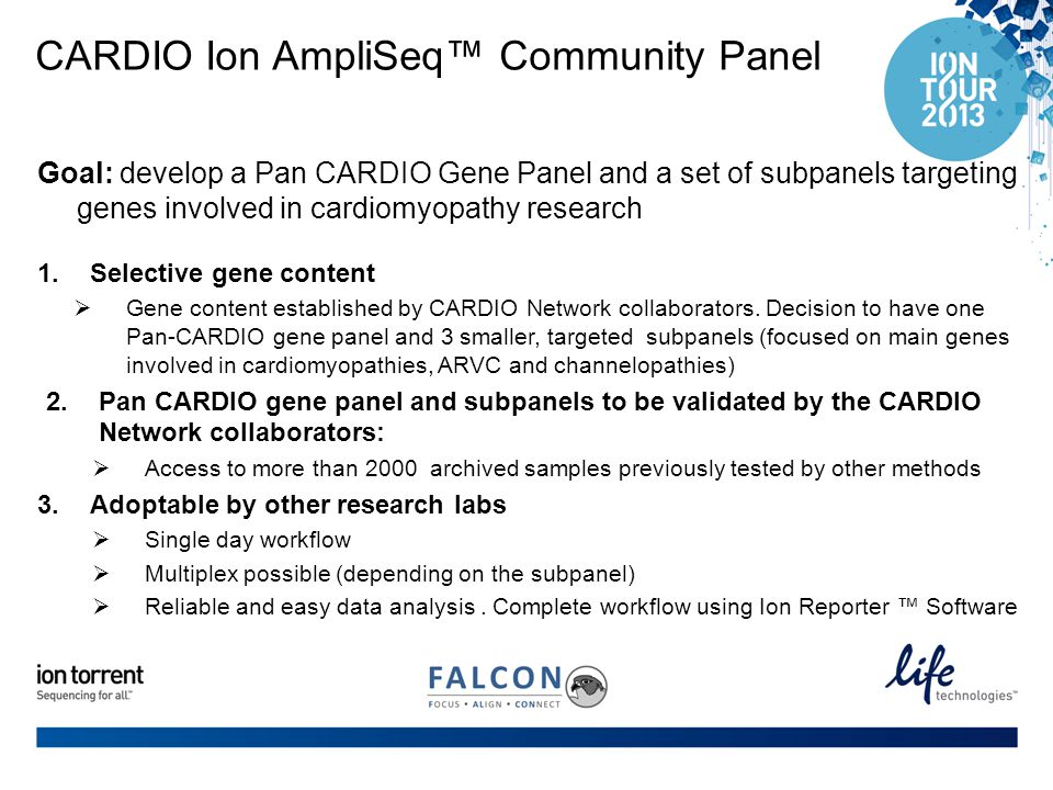 CARDIO Ion AmpliSeq™ Community Panel