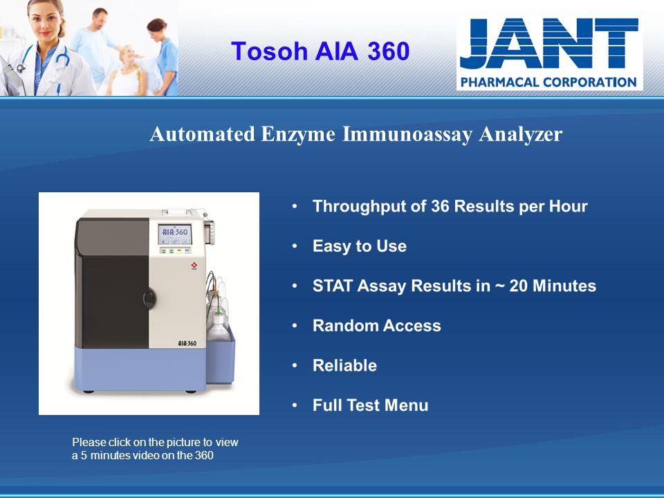 Automated Enzyme Immunoassay Analyzer