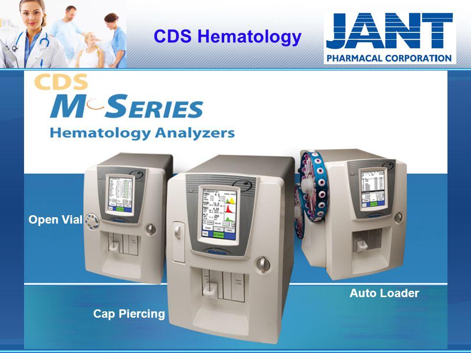 CDS Hematology Open Vial Auto Loader Cap Piercing