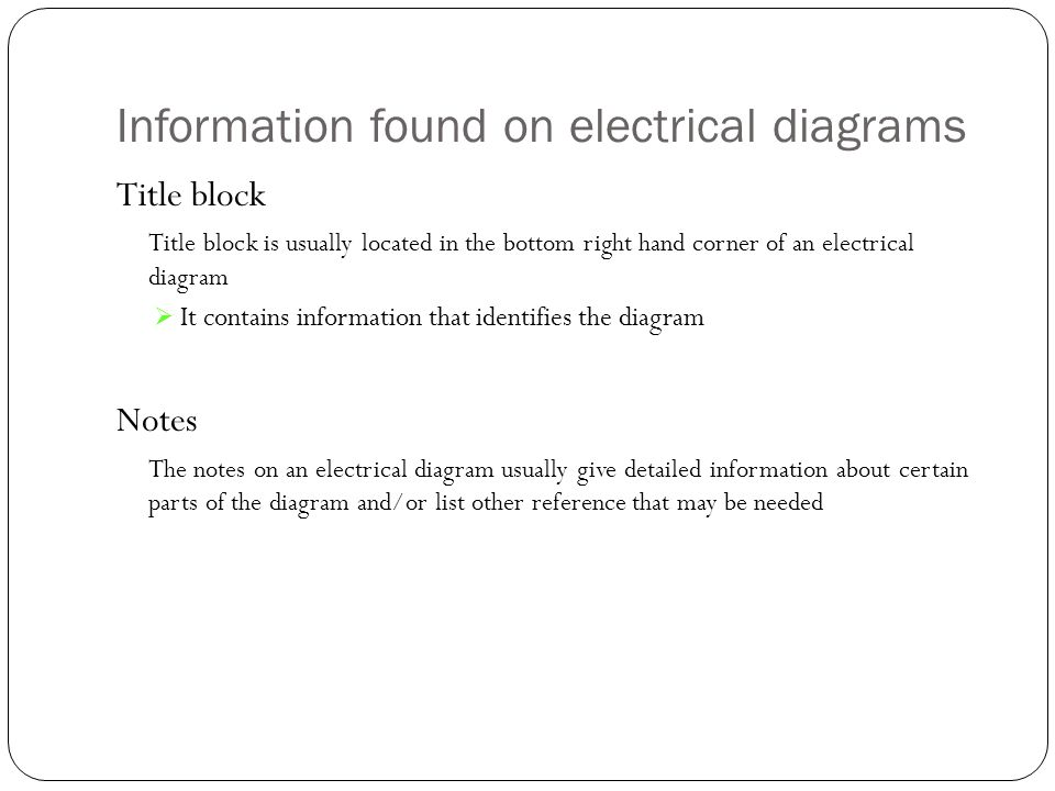 electrical diagrams ppt information found on electrical diagrams