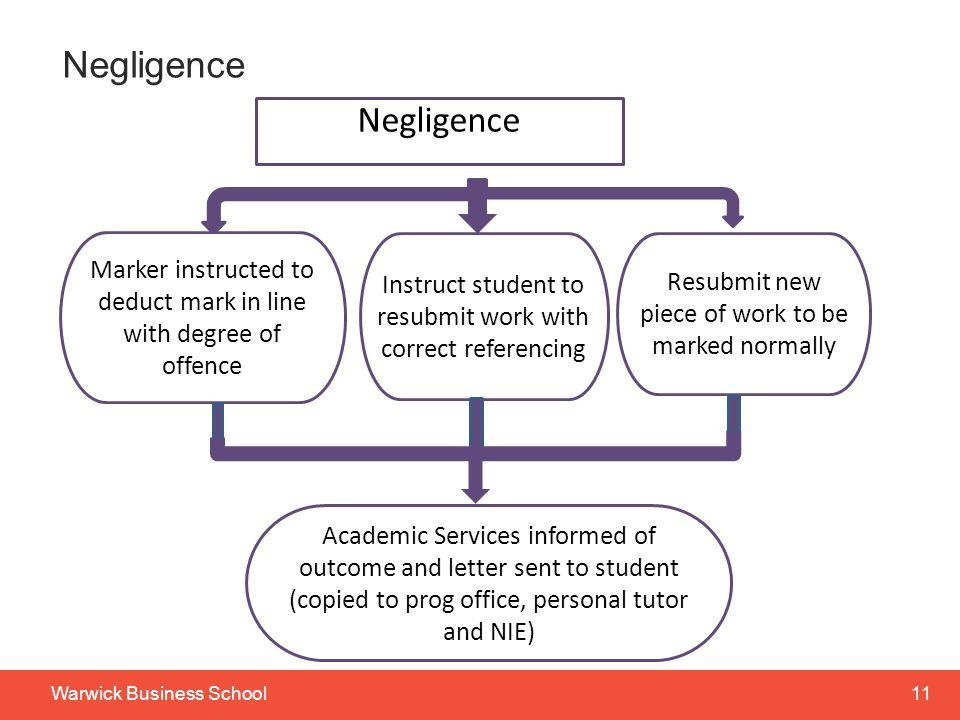 Negligence Negligence