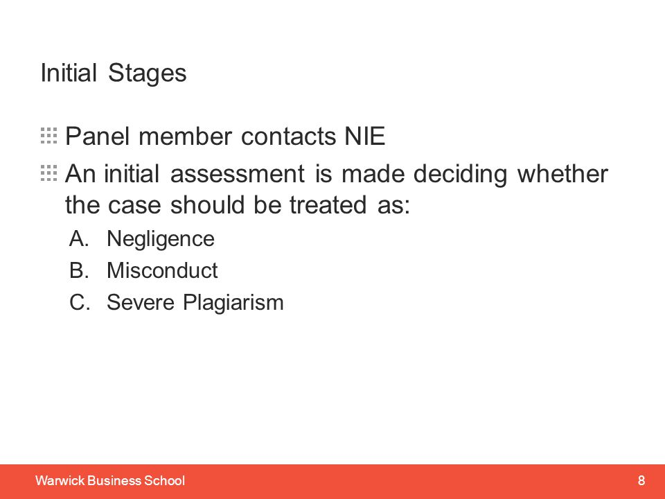 Panel member contacts NIE