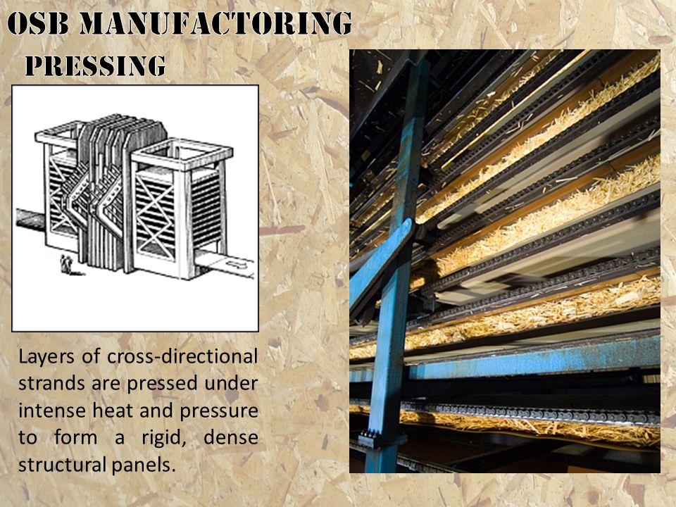 OSB MANUFACTORING pressing