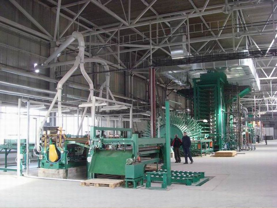 OSB MANUFACTORING Plant Overiew