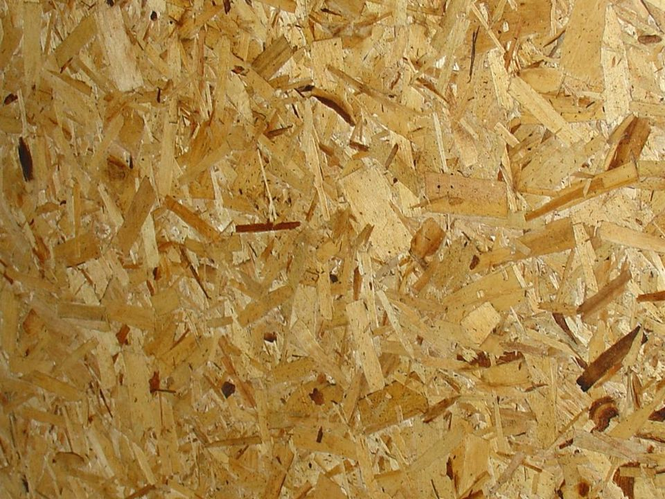 Visual Aid – This is Oriented Strand Board (OSB)