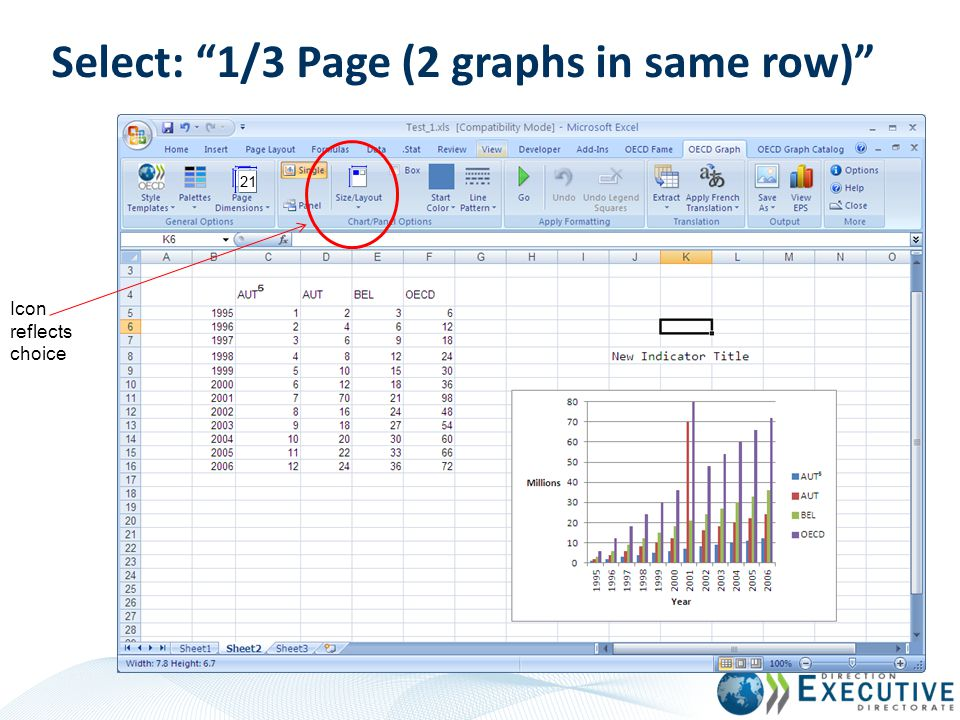 Select: 1/3 Page (2 graphs in same row)