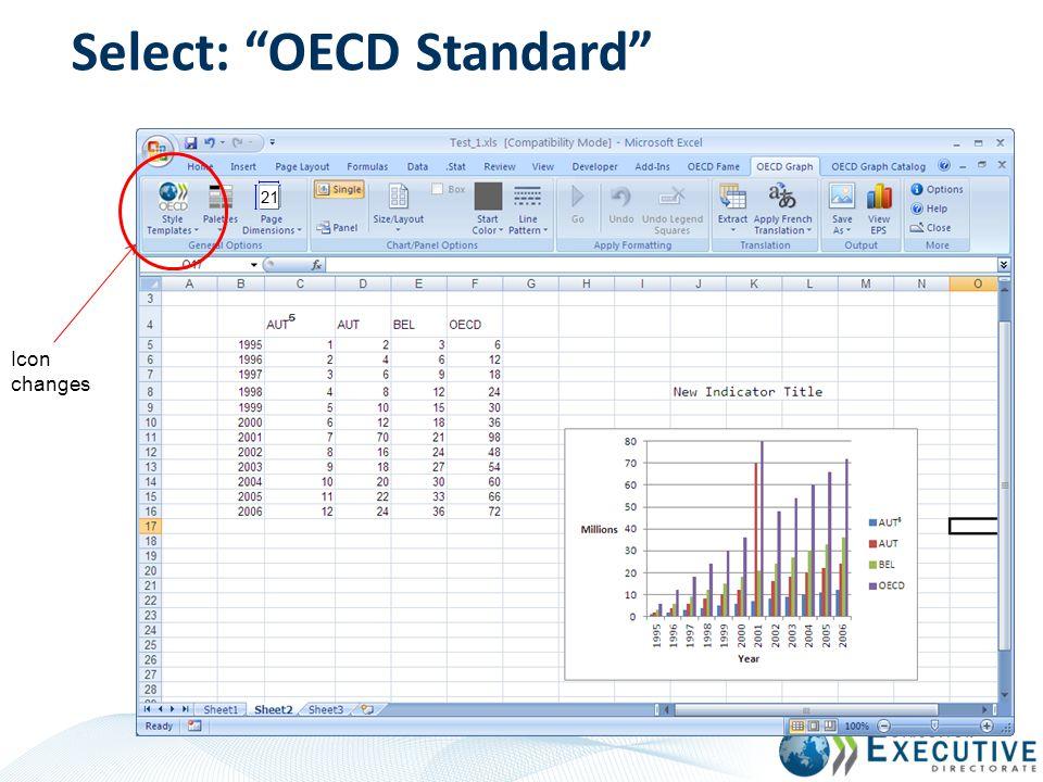 Select: OECD Standard