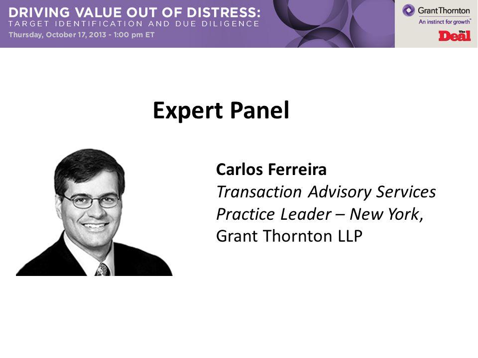 Expert Panel Carlos Ferreira