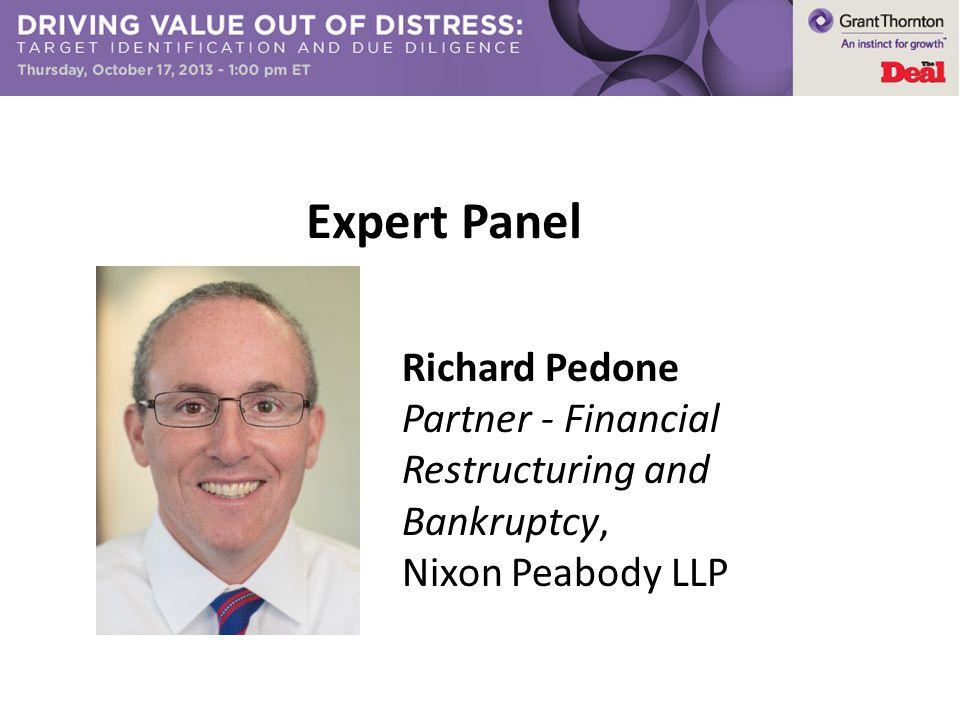 Expert Panel Richard Pedone