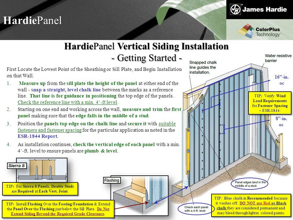 HardiePanel HardiePanel Vertical Siding Installation