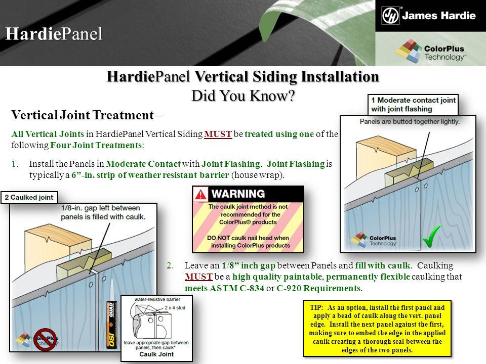 HardiePanel Vertical Siding Installation