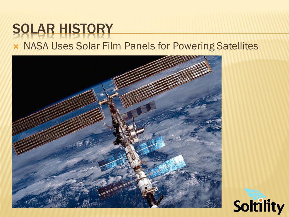 Solar History – OFF-GRID