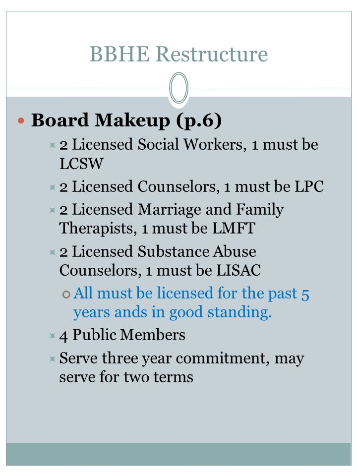 BBHE Restructure Board Makeup (p.6)