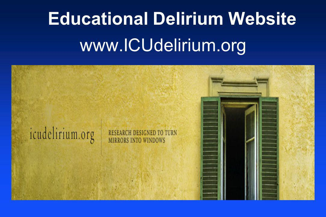Educational Delirium Website