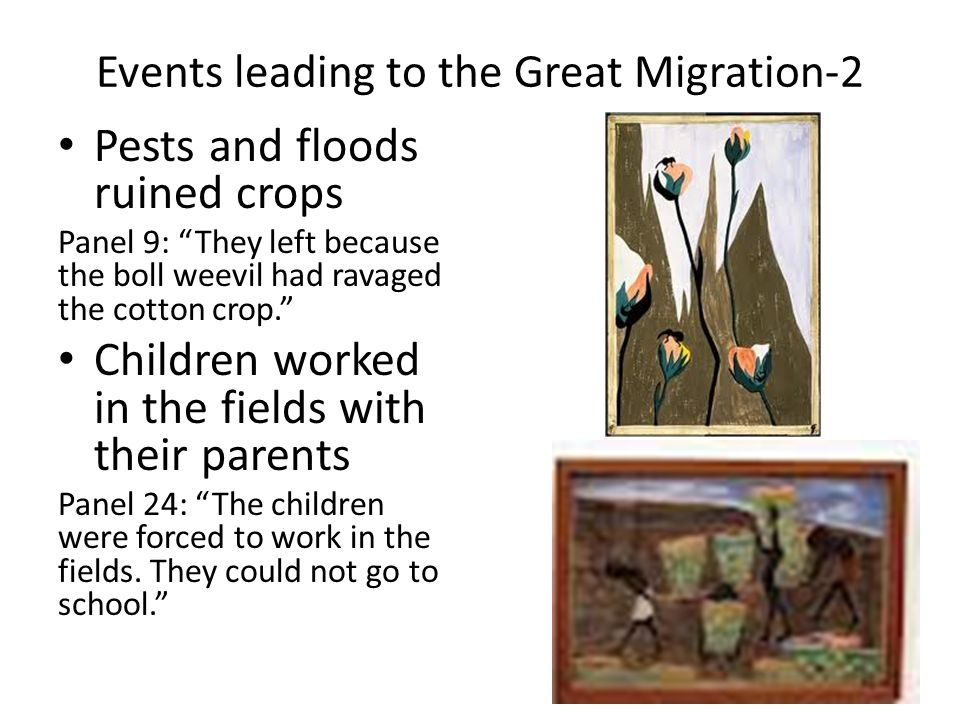Events leading to the Great Migration-2