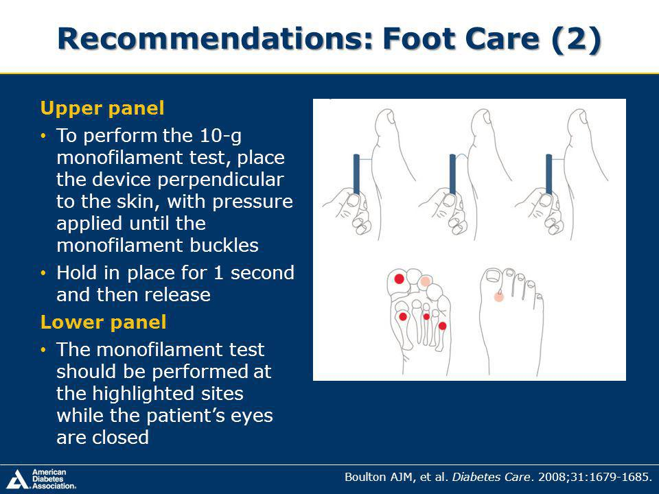 Recommendations: Foot Care (2)