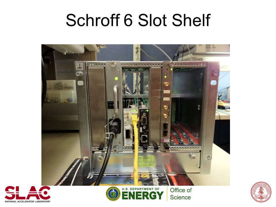 Schroff 6 Slot Shelf